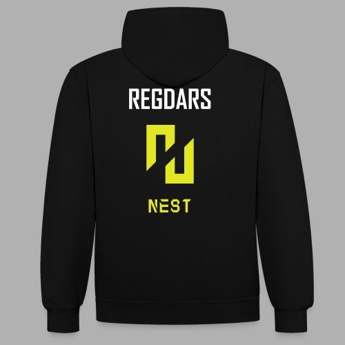 ENEMY NEST coach REGDARS - Sweat-shirt contraste