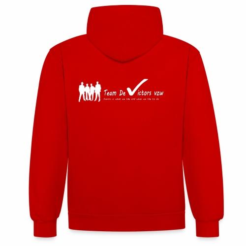 TDV - Contrast hoodie