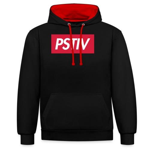 PSTIV Oblique - Contrast Colour Hoodie