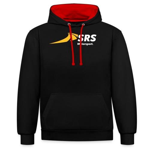 SRS-Logo_Motorsport_p_cmy - Kontrast-Hoodie