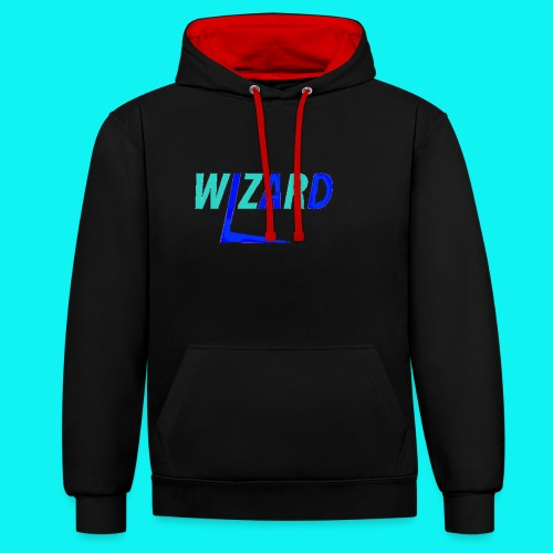2017 wizard merch - Contrast Colour Hoodie
