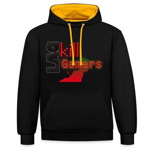 LAG Kills - Contrast Colour Hoodie
