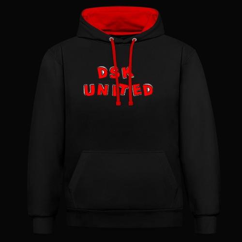 Dsk United - Kontrast-Hoodie