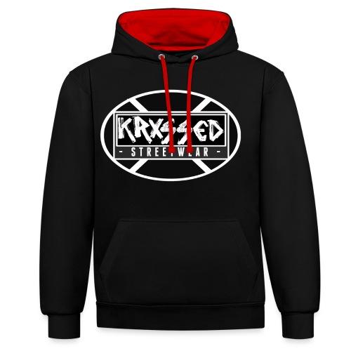 KRXSSED BASIC - Contrast hoodie