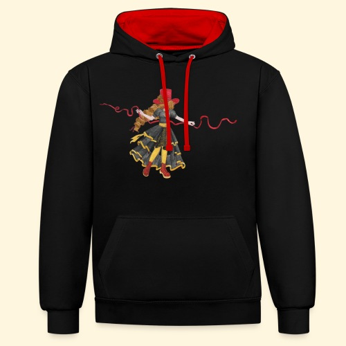 Ladybird - La célèbre uchronaute - Sweat-shirt contraste