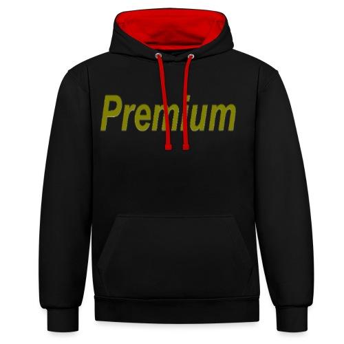 Premium - Contrast Colour Hoodie