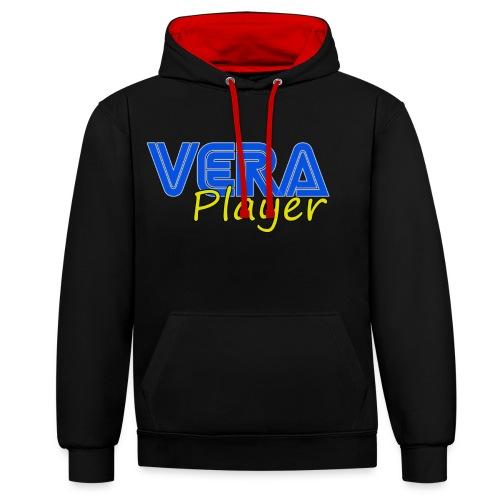 Vera player shop - Sudadera con capucha en contraste