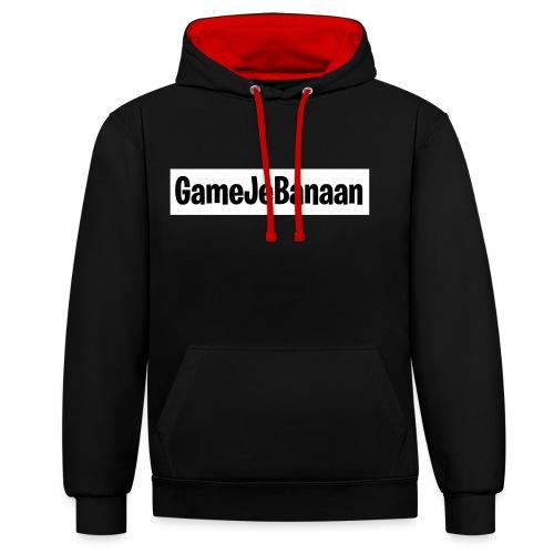Design zwart wit - Contrast hoodie