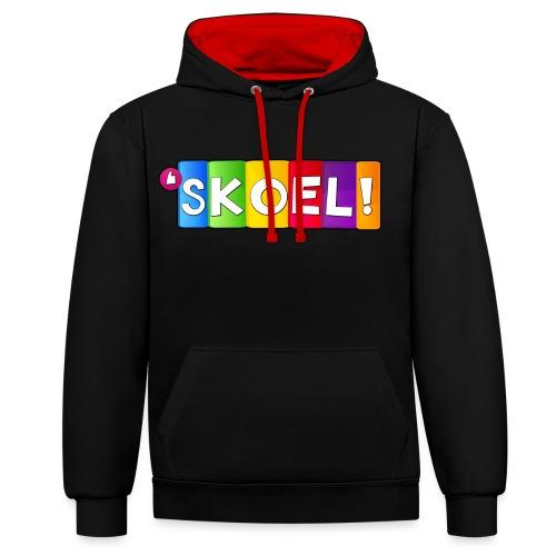 SKOEL merchandise - Contrast hoodie