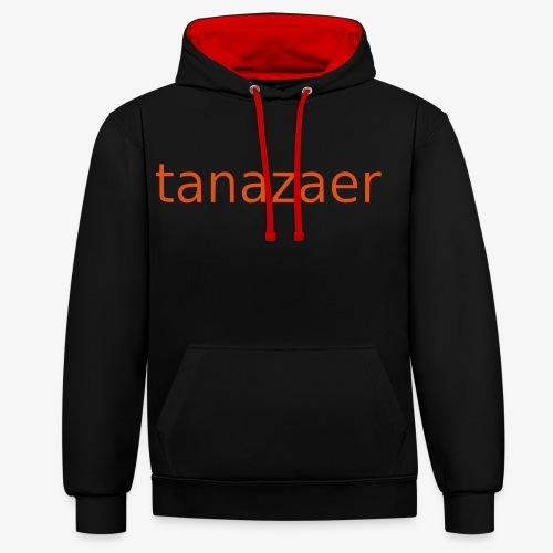 tanazaer - Kontrast-hættetrøje