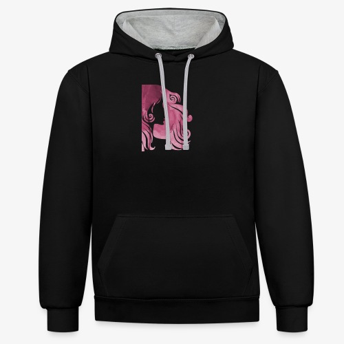 pink-930902_960_720 - Sweat-shirt contraste