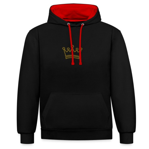 KIING CLOTHING - Contrast Colour Hoodie