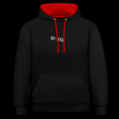 The Black Edition - Kontrast-Hoodie
