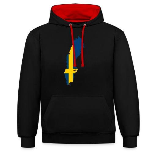 Sweden - Contrast hoodie