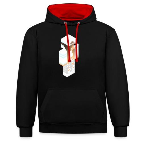 konijntjespower png - Contrast hoodie