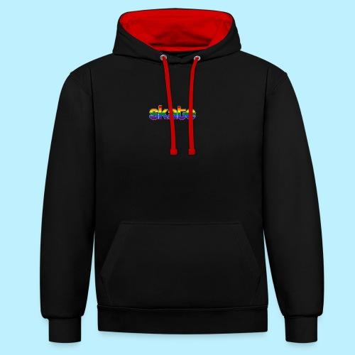 8888 - Contrast hoodie