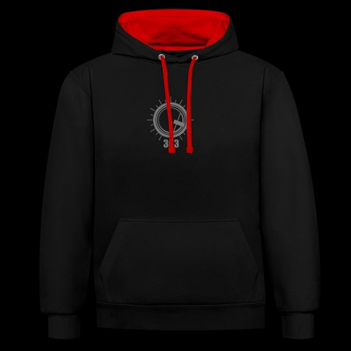 Push the 303 - Contrast Colour Hoodie