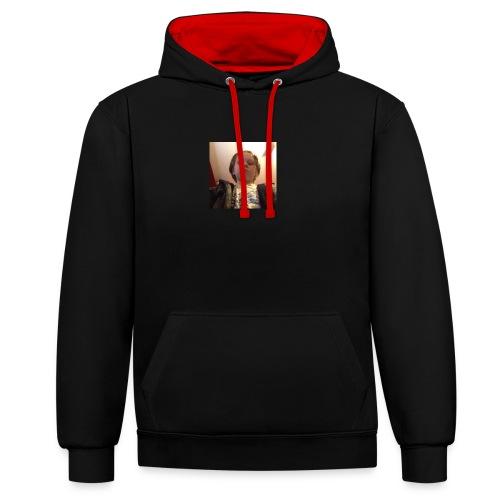 Hayden Junior - Contrast Colour Hoodie