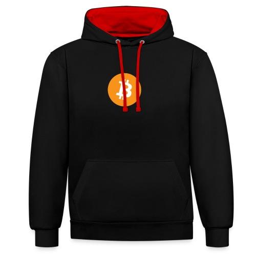 Bitcoin - Contrast hoodie