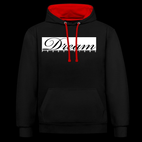 Dream Productions NR1 - Kontrast-Hoodie