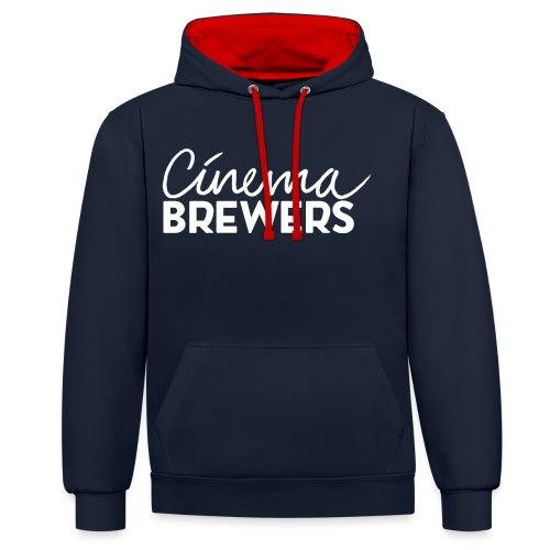 Cinema Brewers - Contrast hoodie