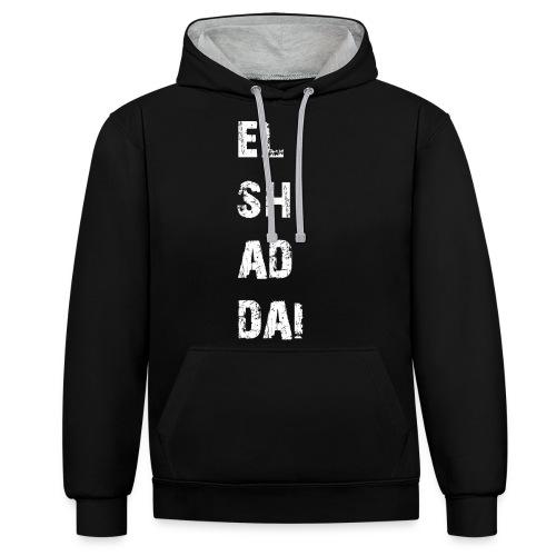 EL SH AD DAI 2 - Kontrast-Hoodie