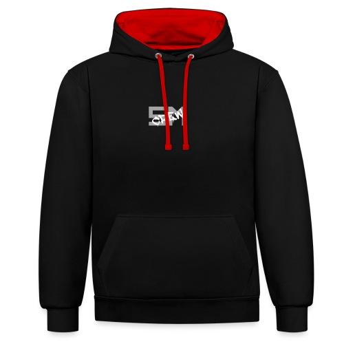SM CREW - Sweat-shirt contraste