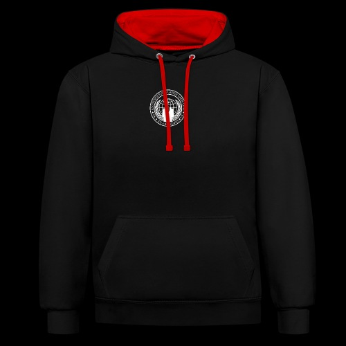 Anonymous Newcastle Upon Tyne - Contrast Colour Hoodie