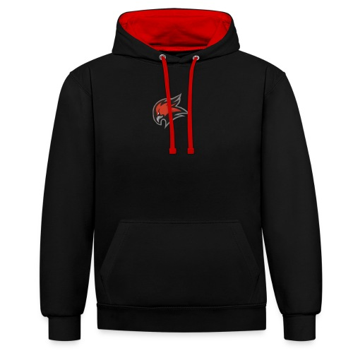 New T shirt Eagle logo /LIMITED/ - Contrast Colour Hoodie