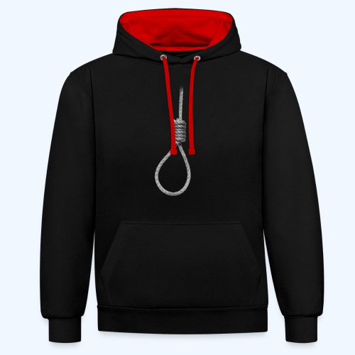 Noose - Contrast Colour Hoodie