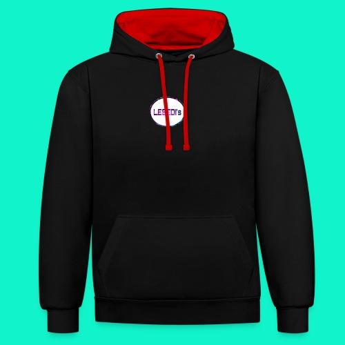 sport - Contrast hoodie