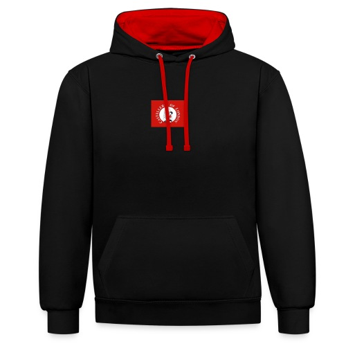 CoL - Contrast Colour Hoodie