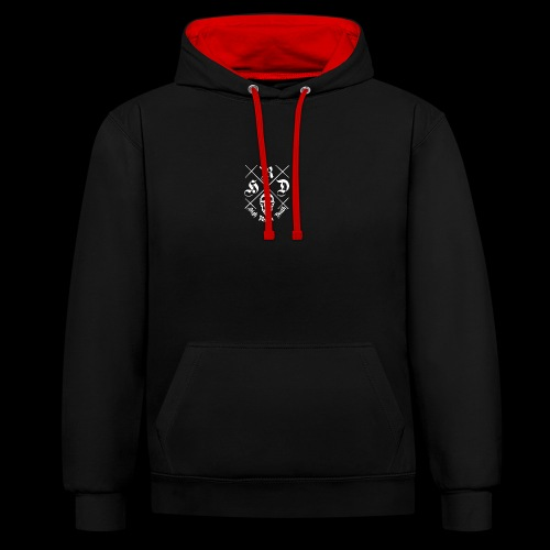 HIGH.REAPER.DEATH - Contrast Colour Hoodie