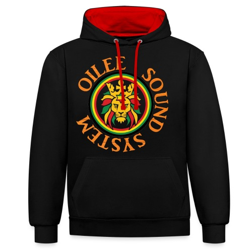 logo oilee sound - Sweat-shirt contraste