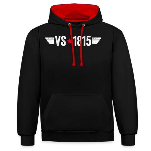 VS-1815 - Kontrast-Hoodie