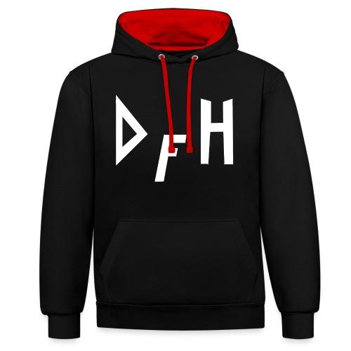 DFH - Kontrast-hættetrøje