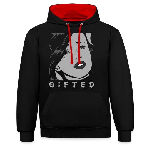 Gifted Comic - Contrast hoodie
