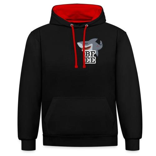 BFEE Logo - Kontrast-Hoodie