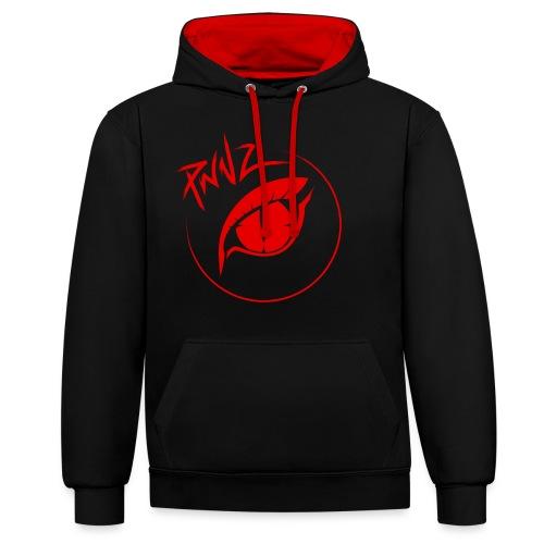 PwnZ Rouge - Sweat-shirt contraste