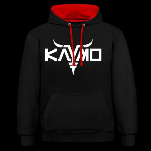 KayMo Logo - Kontrast-hettegenser