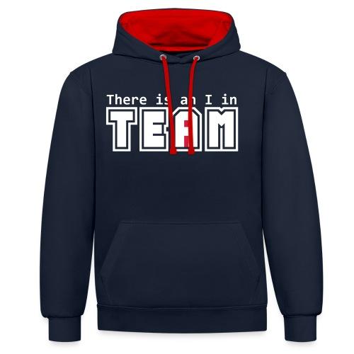 Équipe I - Sweat-shirt contraste