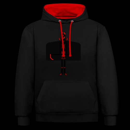 Deathlord - Contrast Colour Hoodie