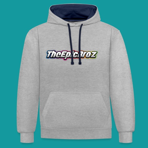 TheEpicBroz - Contrast hoodie