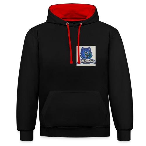 kleren - Contrast hoodie