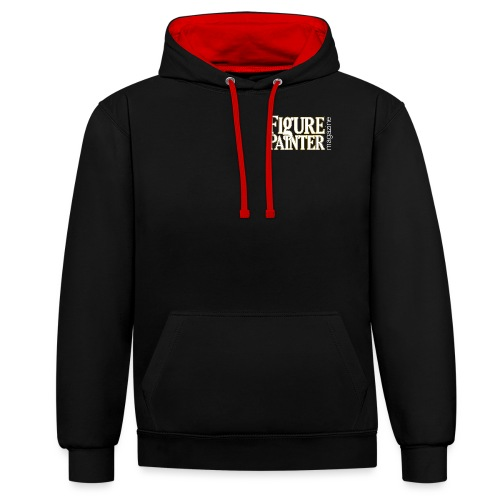design1 png - Contrast Colour Hoodie