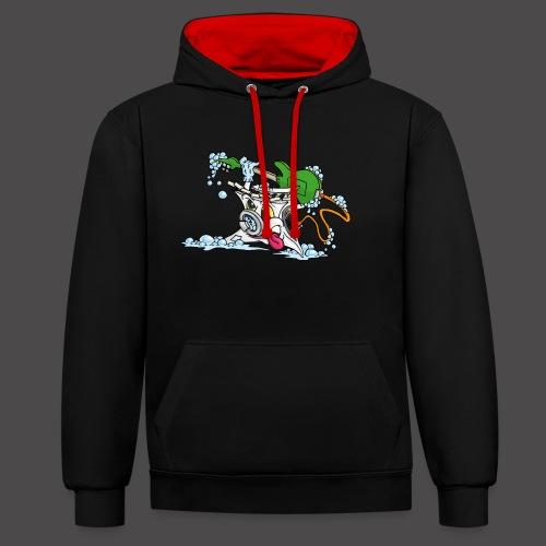 Wicked Washing Machine Wasmachine - Contrast hoodie