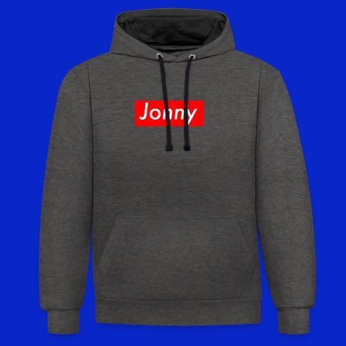 Jonny - Contrast Colour Hoodie