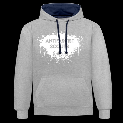 Antifascist Scouts - Contrast Colour Hoodie