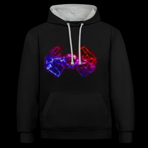 Tie Fighter - Contrast Colour Hoodie