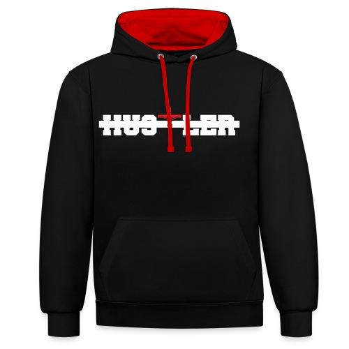 Hustler Magna png - Contrast Colour Hoodie